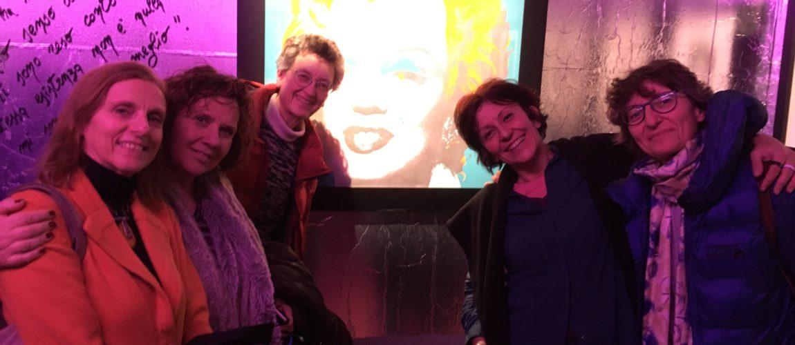 12 gennaio 2019: pienone alla mostra di Andy Warhol