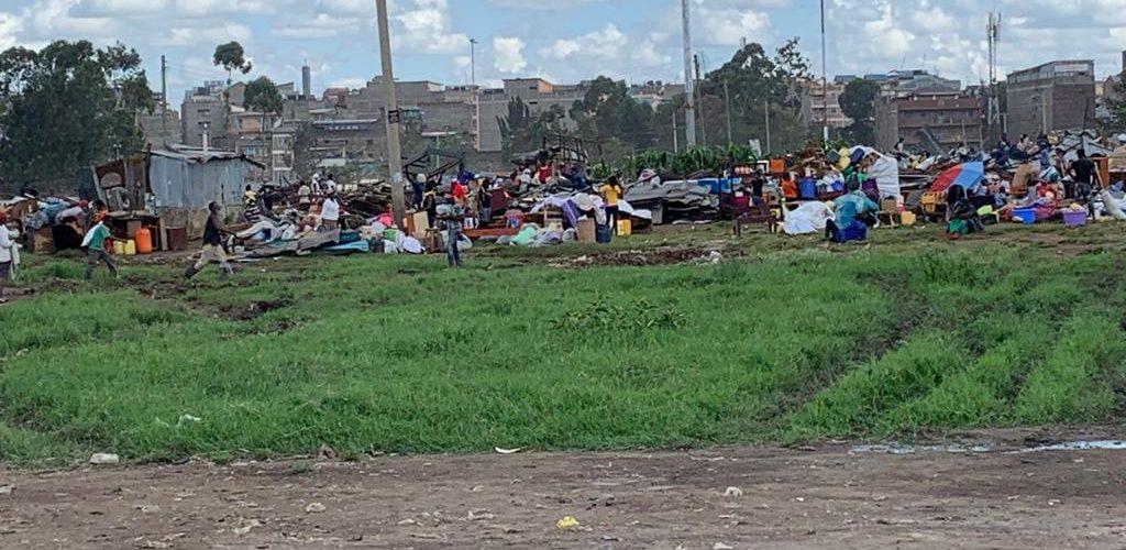 Effetti collaterali del COVID-19: a Kariobangi 5000 famiglie senza casa, di cui 15 di HoL